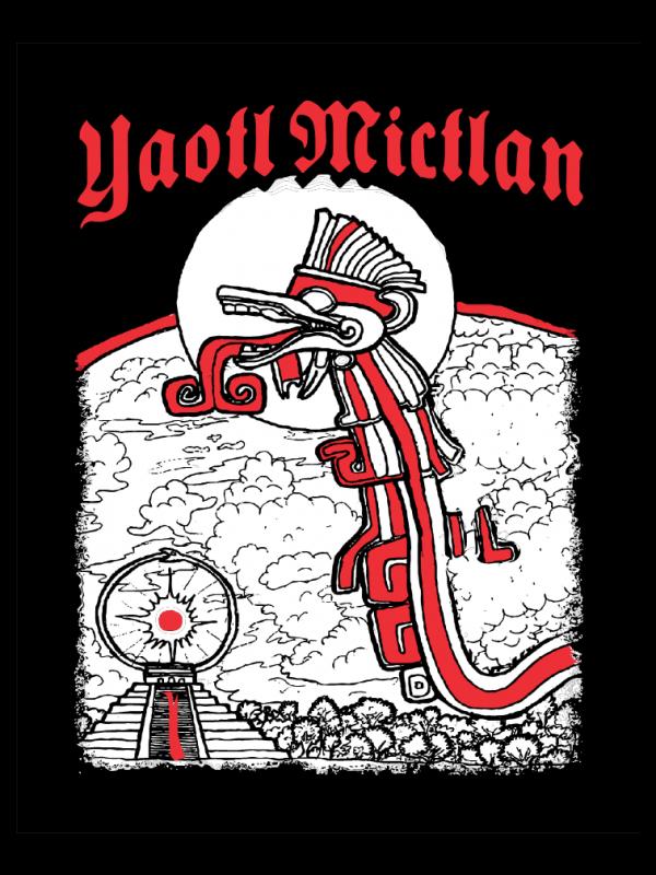 Yaotl Mictlan Stickers